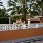Balaustre Marbella con pilastra Argos y remate Serpis