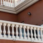 Balaustre Ginebra con pasamano-zócalo Aviñón y pilar Arizona