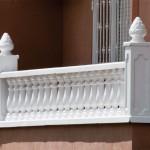 Balaustre Capri con pasamano-zócalo Troya y remate Cuenca