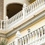 Balaustre Ginebra con pasamano-zócalo Marsella, pilar Niza y remate Atenas