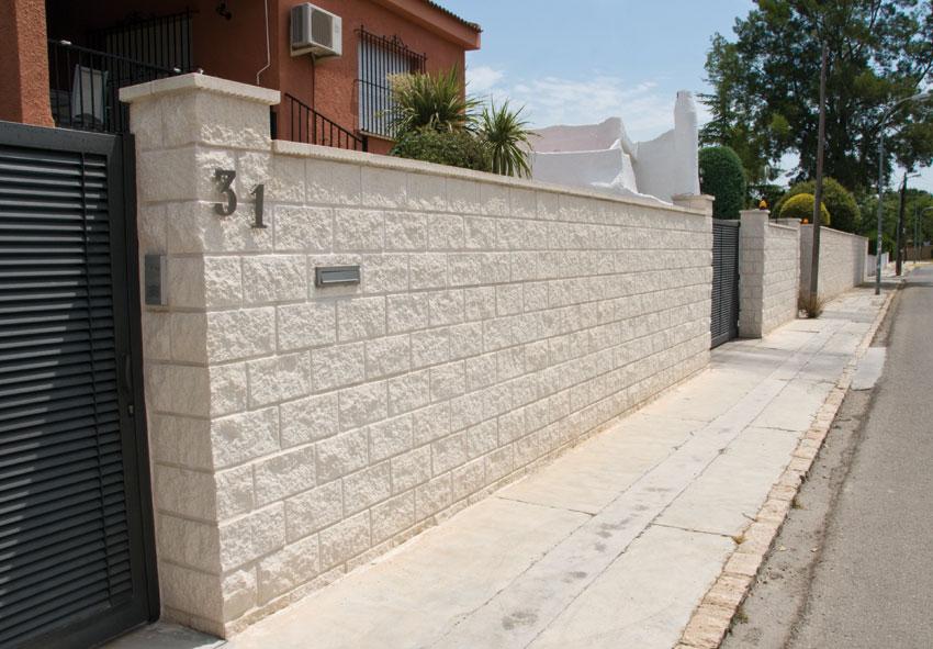 bloque 1 esquina split ganda - Bloques De Hormign