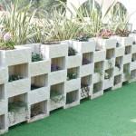 Muro ecológico con jardinera Ulises