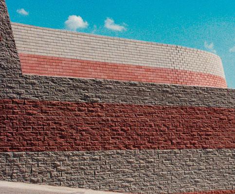 Muro de contención de tierras Verniprens