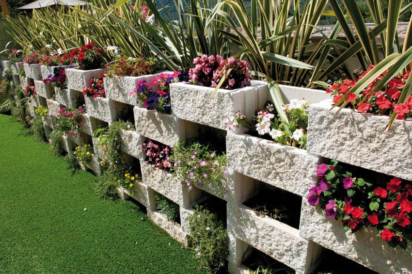 Muro ecol gico verniprens - Bordillos de plastico para jardin ...
