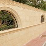 Revestimiento Salamanca con moldura Mayor, moldura Salamanca curva y vierteaguas Salamanca