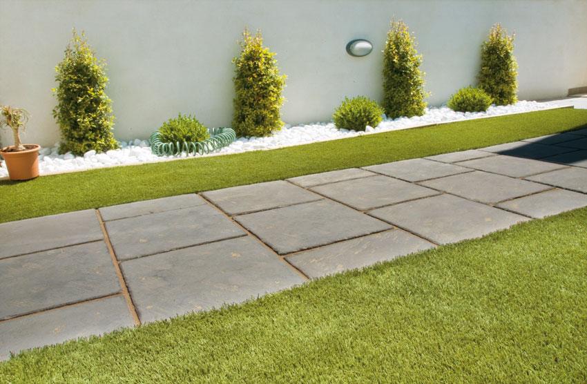 Baldosas nerja y escorial verniprens for Pavimento jardin