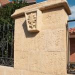 Aplacado Salamanca con clave Flor de Lys