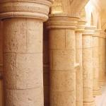 Columna Aros con capitel Alberca