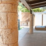 Columna Rueda Marés y ½ capitel Alcudia
