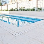 Drenaje Nerja con baldosa y remate de piscina Trena