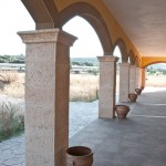 Esquina saliente moldura Salamanca