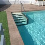 Remate de piscina Canadá oregón