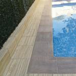 Remate y ángulo de piscina Canadá oregón
