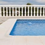 Remate de piscina con ángulo Jávea