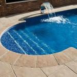 Remate curvo y ángulo inverso remate piscina Palacio