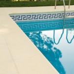 Baldosa Loja con remate de piscina Cañaveral