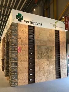 Revestimientos de prefabricado de hormigón Verniprens en Cersaie 2016
